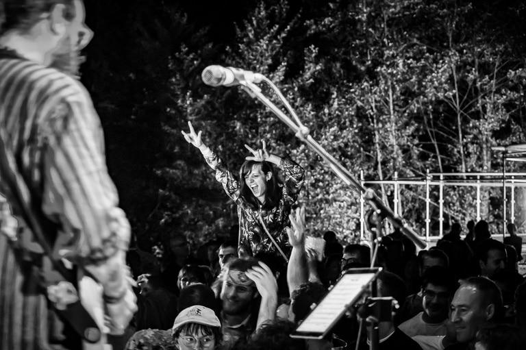 photo du public par photographe concert