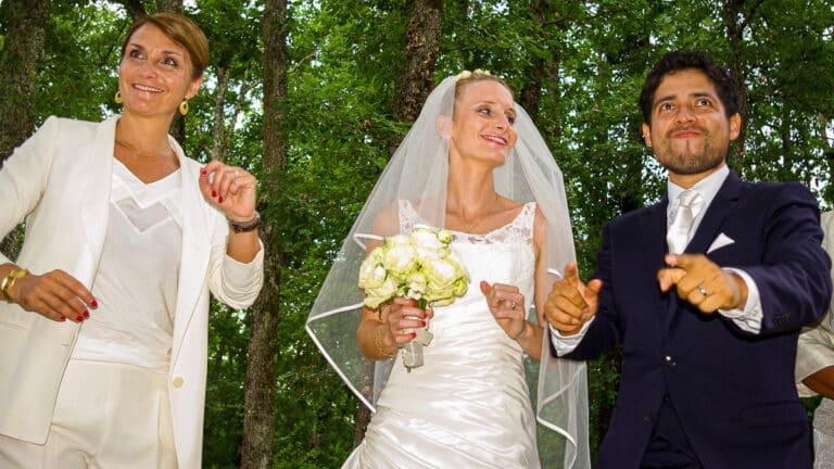 photo de danse au mariage