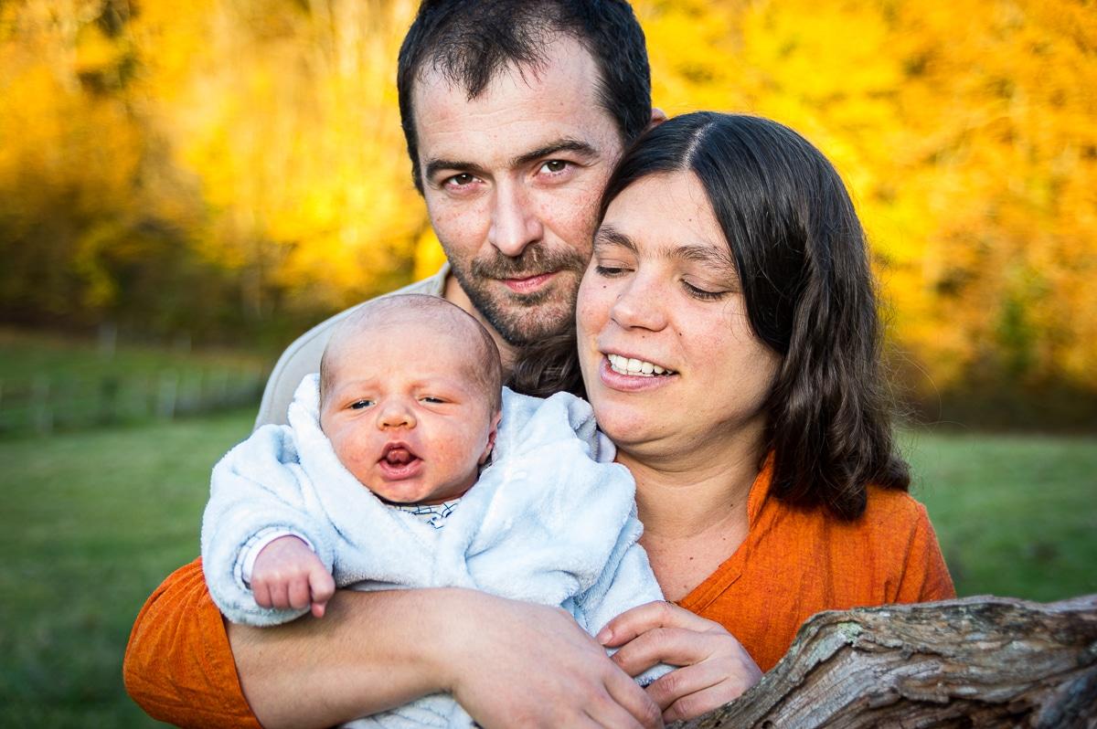 photographe famille parents et bébé